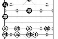 象棋棋例探讨(四百九十五)
